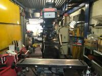 Machinery Available - Lathes, Millers, Grinders, Bandsaws