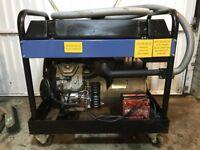 Generator 12KVA Petrol Honda engine mobile on rubber wheels Petrol, mobile business Power