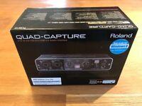 Roland quad capture interface..NEVER USED