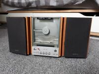 CD Player Stereo System Aux Port for Ipod Mobile Phone