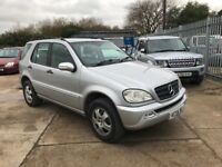 MERCEDES ML270 CDI 7 SEATER AUTO FULLY LOADED
