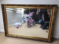 Large ornate mirror £30