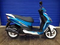 2016 SYM JET 4 125CC SPORTS SCOOTER , GOOD CONDITION , LOW MILES