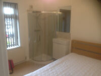 Newly decorated and furnished en-suite double room in large detached house, Bursledon Southampton