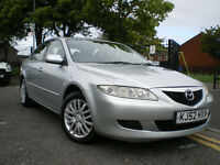 *** MAZDA6 1.8 S 5dr *** FULL 12 MONTHS MOT*** 3 MONTHS WARRANTY INCLUDED*** BARGAIN****