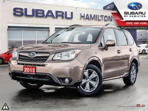 2015 Subaru Forester 2.5i Touring Package ONE OWNER | NO ACCI...