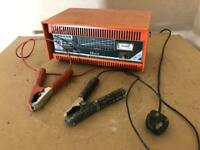 High Power Battery Charger - lockdown flat battery car van bike