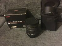 Sigma 17-50mm f2.8 EX DC OS , Nikon fit , £200