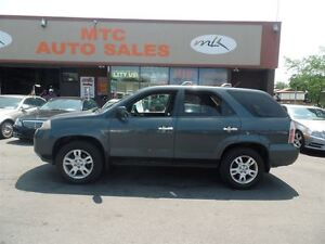2006 Acura MDX LEATHER, SUNROOF, 7 PASSENGER, 4X4
