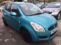 Suzuki Splash 1.2 GLS 5dr£2,485 p/x welcome 1 YEAR FREE WARRANTY. NEW MOT