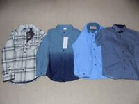 AGE 6-7 - SHIRTS, 4 OFF - 2 BRAND NEW WITH TAGS
