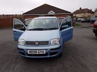 MotorHome Tow Car. Fiat Panda 1.2 Dynamic A-Frame Electronic brake towing system. Lovely condidtion