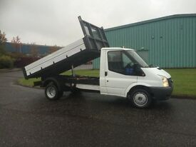 Ford Transit 2.4TDCi Duratorq ( 140PS ) 350M TIPPER PICK UP