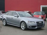 2011 Audi A4 2.0T QUATTRO / S-LINE PKG / SUNROOF / LOADED