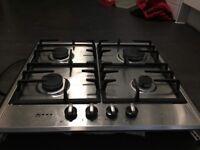 NEFF 4 ring gas hob brilliant condition