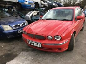 2002 JAGUAR X-TYPE V6 (MANUAL PETROL)