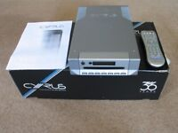 Cyrus CD8SE2 CD Player Boxed with remote. New laser. Full working order.