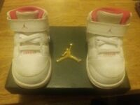 Girls Nike Jordan's trainers