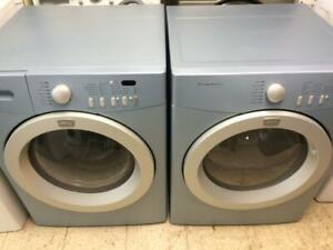 34-   Laveuse Sécheuse Frontales FRIGIDAIRE AFFINITY BLUES Frontload Washer Dryer