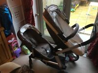 Mothercare Genie Double Tandem Pushchair