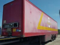 ex post office 2005 cartwright boxvan trailers ideal storage etc final price plus vat