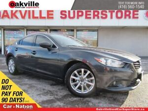 2014 Mazda MAZDA6 GS | LEATHER | SUNROOF | NAVI | B/U CAM | A/C
