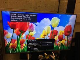 "Panasonic 58"" smart 4k ultraHD LED Tv Warranty Free Delivery"