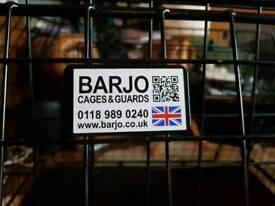 Bargo dog car crate cage transport