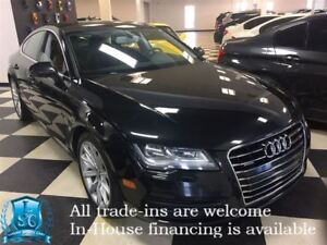 2012 Audi A7 Clean No Accidents w/NAVI/ParkAssist/Sunroof