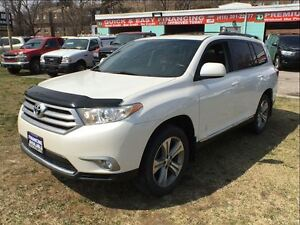 2013 Toyota Highlander 7 PASS LEATHER 4WD