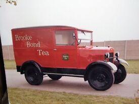 Large Brooke Bond Tea van 1930s
