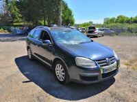 VW GOLF 1.9 TDI DIESEL ESTATE 2008, 193,000 MILES. MOT 12 months, CHEAP