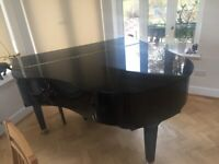 Baby grand Yamaha piano