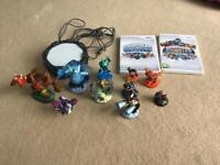 Skylanders games, portal and characters for Wii