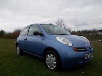 2005 nissan micra 1.2 3 door only group 2 insurance