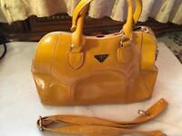 Prada ladies shoulder bag apricot colour brand new M size £35