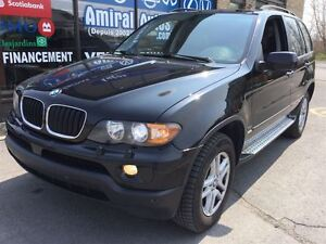 2006 BMW X5 3.0i*AWD*CUIR CHOCOLAT*TOIT PANORAMIQUE DOUBLE*CON
