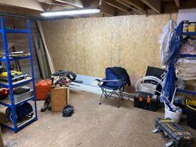 Workshop / Storage Units Available