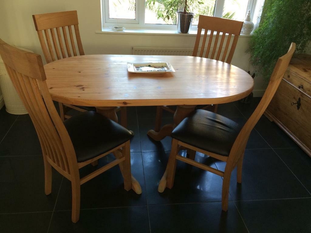 Dining table and chairsin Cambridge, CambridgeshireGumtree - Dining table a 6 chairs, used but in good condition, collection from Highfields Caldecote