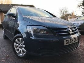 *12 MTHS WARRANTY*2008(08)VW GOLF PLUS 1.9TDI PD 5DR HATCH WITH FULL SERVICE RECORD NICE GENUINE CAR