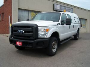 2011 Ford F-250 Superduty 4x4 Crew Cab XL 8ft Box