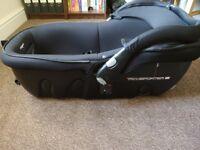 Transporter 2 lay flat car seat