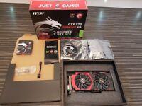 MSI Gaming 4G Nvidia GTX 970 Graphics Card