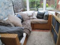 RATTAN CONSERVATORY FURNITURE>>VALUE OVER £1000!!! IDEAL FOR PLAY ROOM ETC
