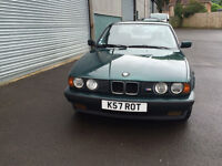 Left Hand Drive 1992 BMW 525 with M body kit