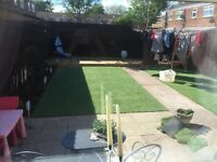 Artificial grass/turf No Mess! No Mowing!