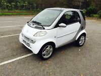 2001 Smart City 11 Months MOT Private Plate Included