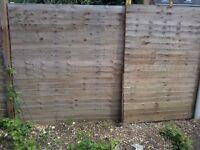 Fencing 2 nos 6x6 wooden good conditon 10 quids ( shop price 20 quids)