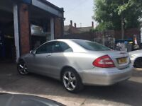 Mercedes clk 240 spares or repair