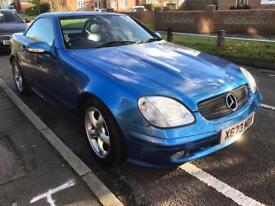 2001 Mercedes Benz SLK 320 V6 RARE 6 Speed Manual Convertible